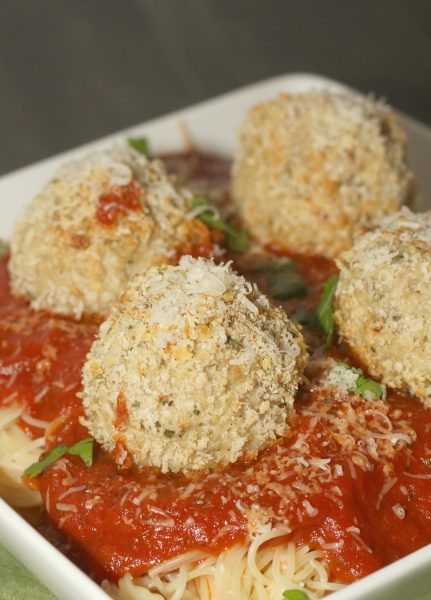 Mozzarella-Stuffed-Chicken-Parmesan-Meatballs-12